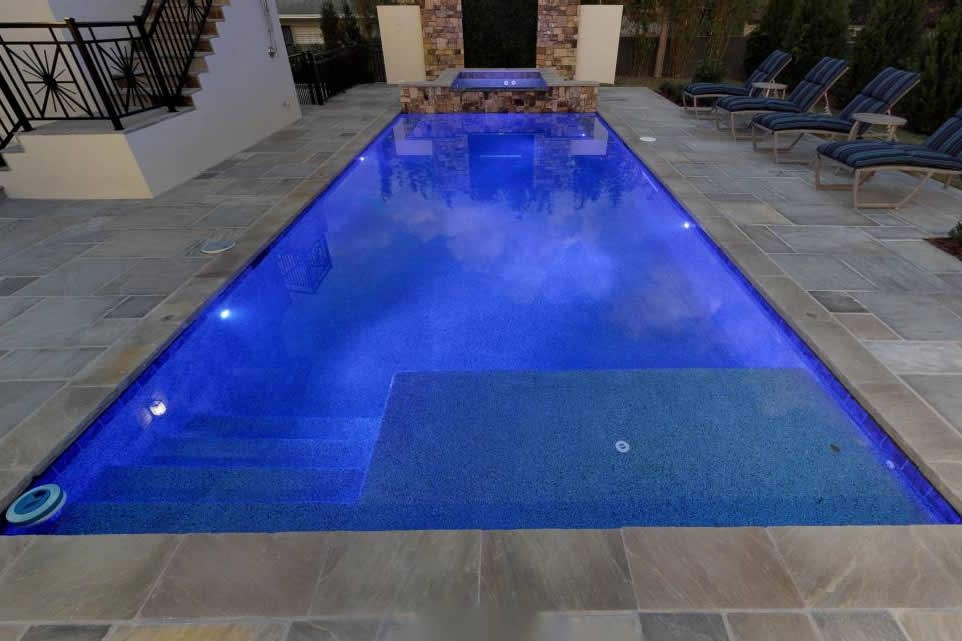 SA Promenade flag and pool coping pool area 1